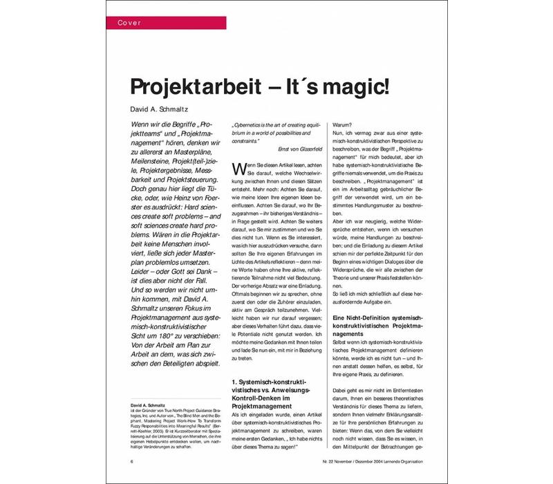 Projektarbeit – It´s magic!