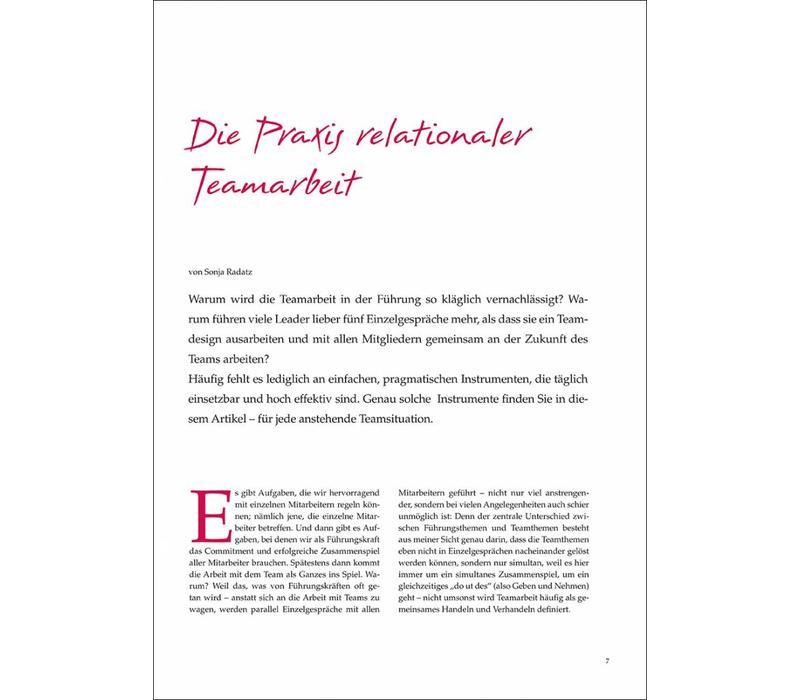 Die Praxis relationaler Teamarbeit
