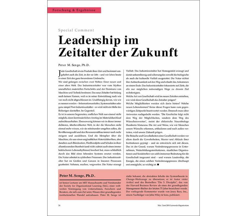 Leadership im Zeitalter der Zukunft