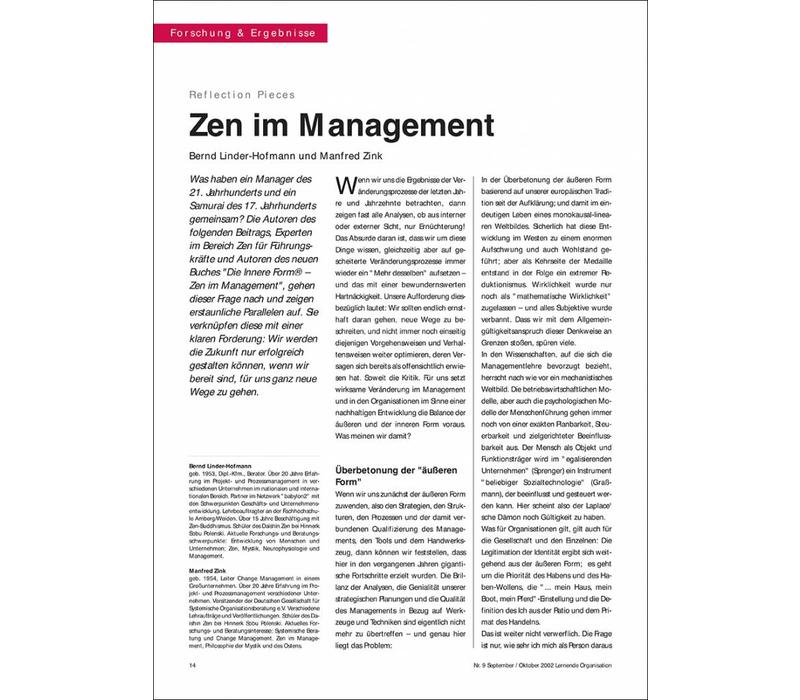 Zen im Management