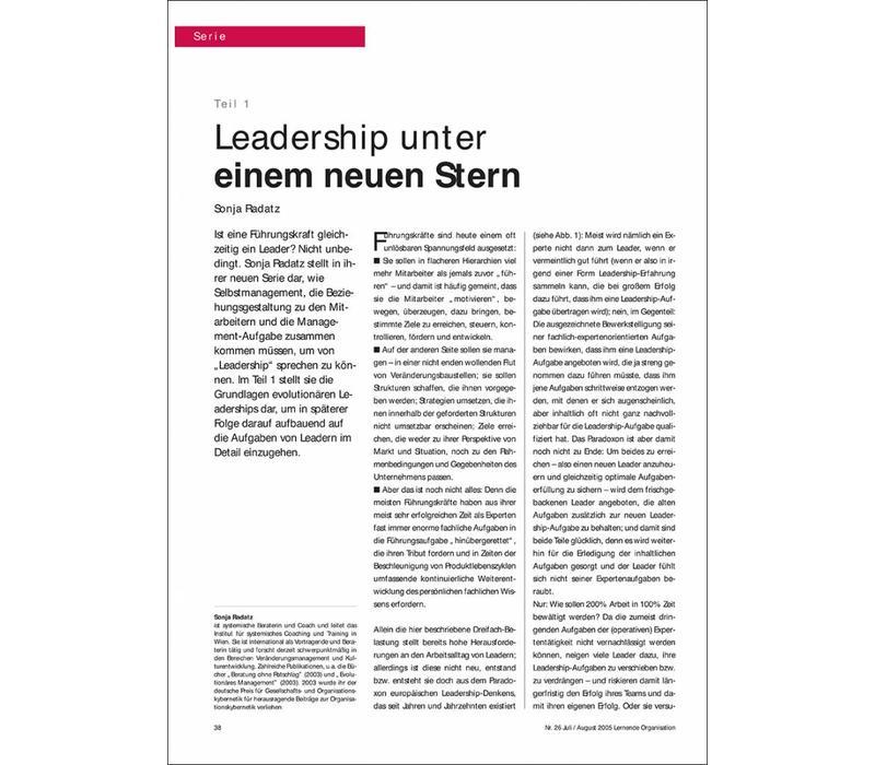 Leadership unter einem neuen Stern