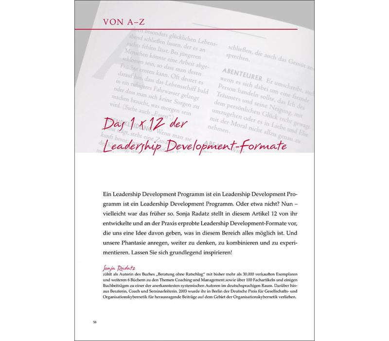 Das 1 x 12 der Leadership Development-Formate