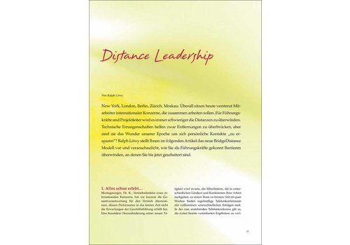 Distance Leadership
