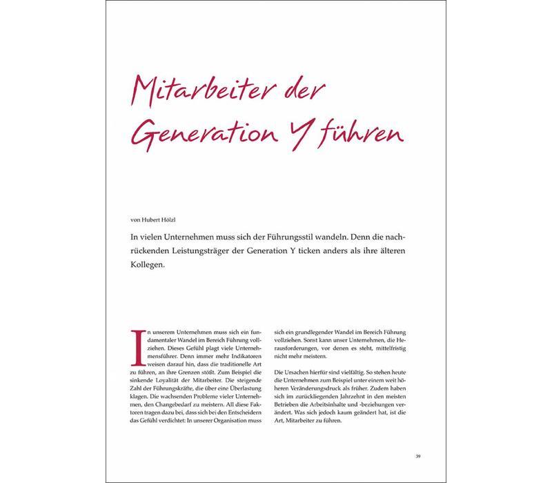 Mitarbeiter der Generation Y führen