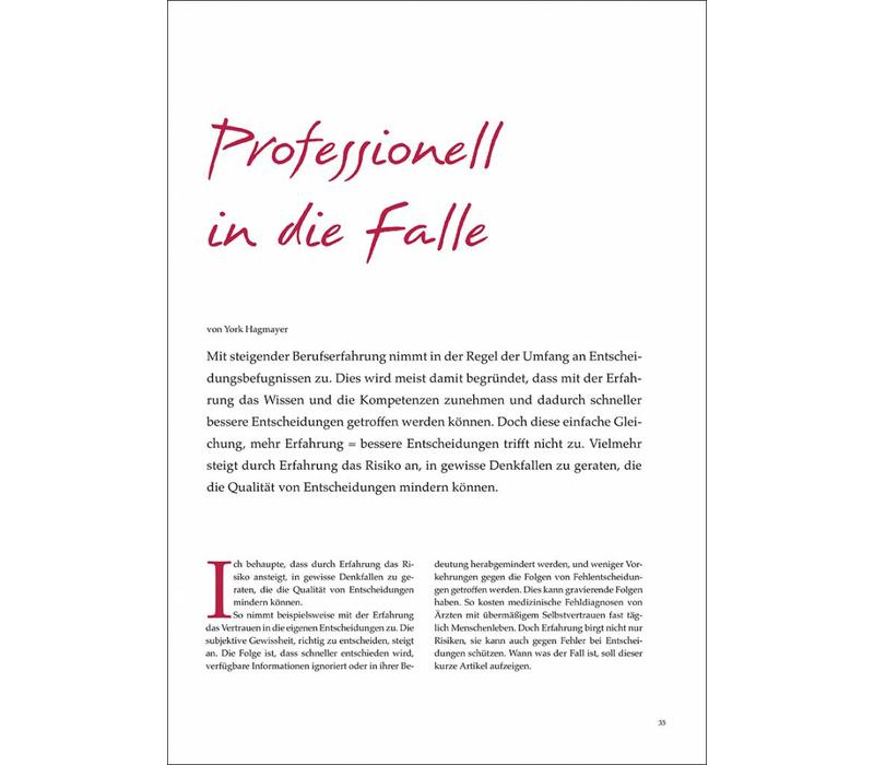 Professionell In Die Falle