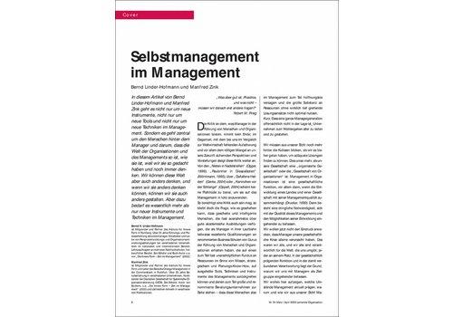 Selbstmanagement im Management