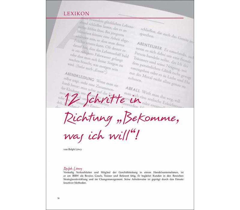 """12 Schritte in Richtung """"Bekomme, was ich will""""!"""