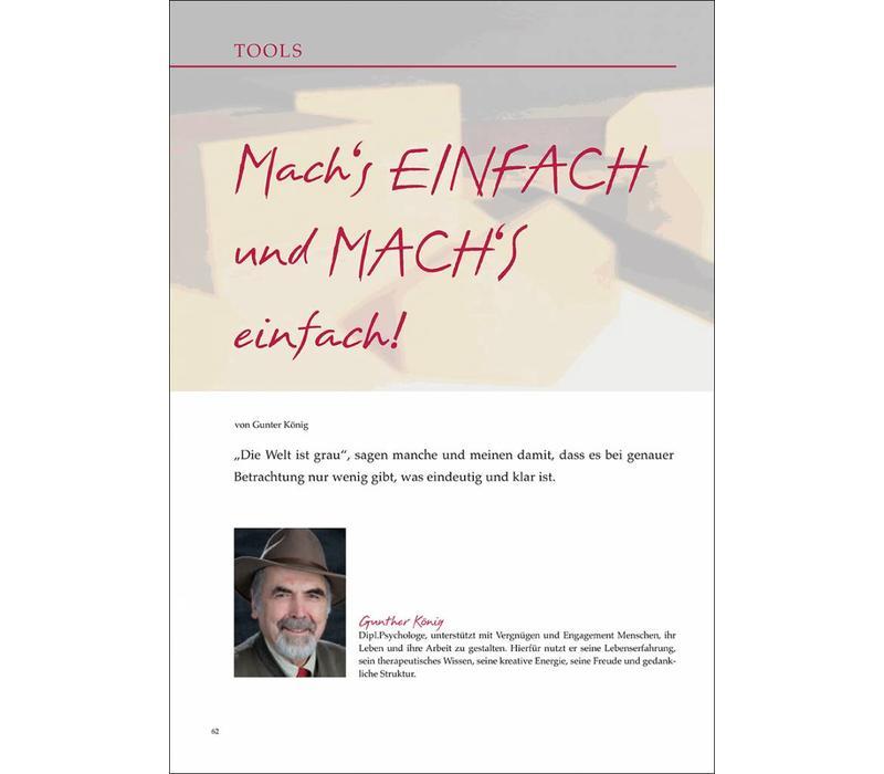 Mach's EINFACH und MACH'S einfach!
