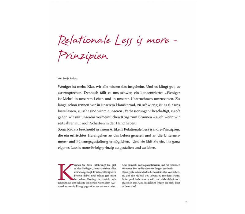 Relationale Less is more - Prinzipien