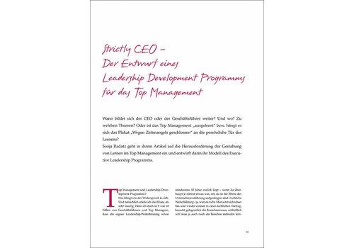 Strictly CEO – Der Entwurf eines Leadership Development Programms für das Top Management