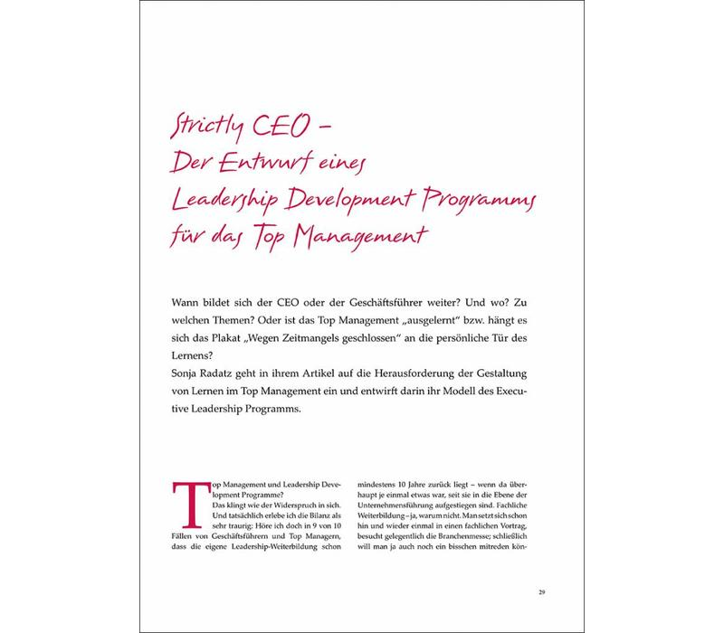 Strictly CEO – Der Entwurf eines Leadership Development Programms für das Top Management