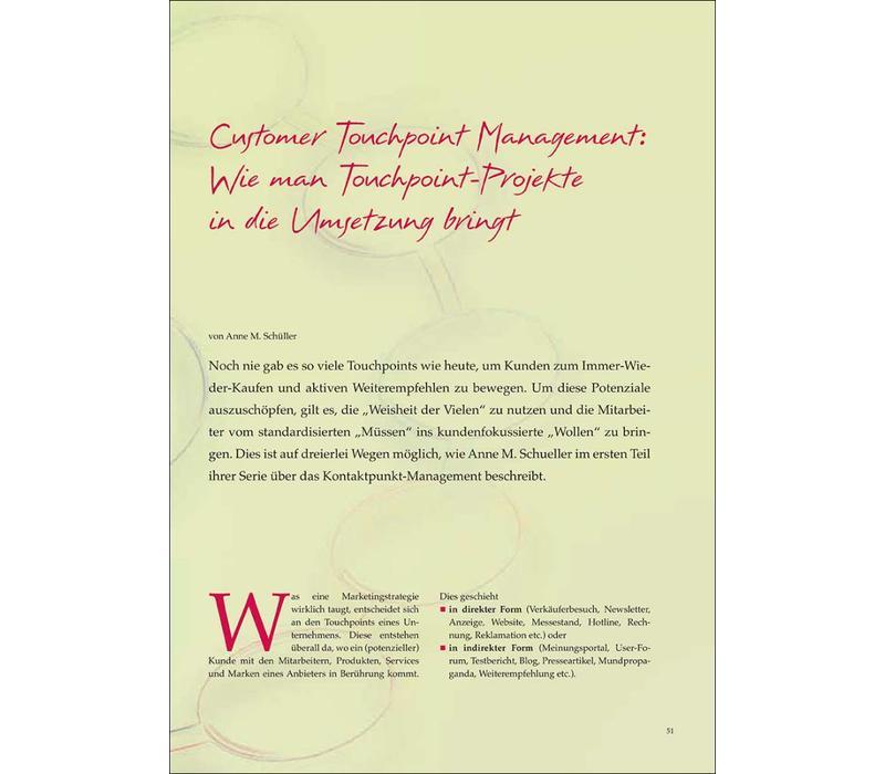 Customer Touchpoint Management: Wie man Touchpoint-Projekte in die Umsetzung bringt