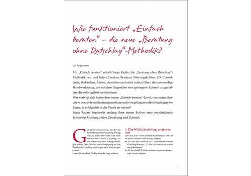 """Wie funktioniert """"Einfach beraten"""" - die neue Beratung ohne Ratschlag-Methodik?"""
