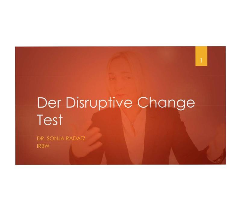 Online-Seminar: Der Disruptive Change Test