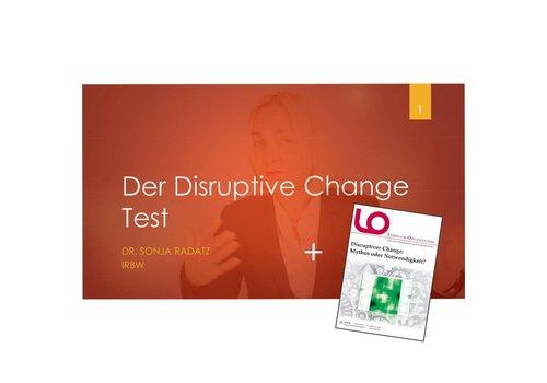Set: Online-Seminar Der Disruptive Change Test + Zeitschrift LO 105