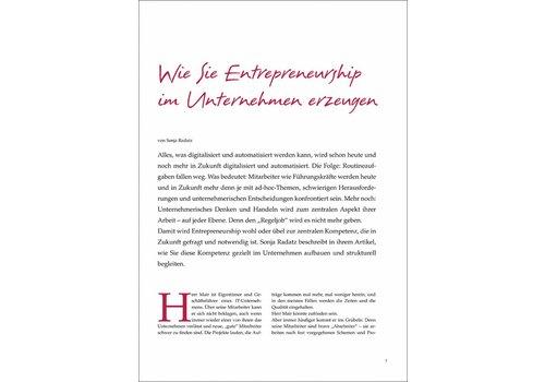 Wie Sie Entrepreneurship im Unternehmen erzeugen