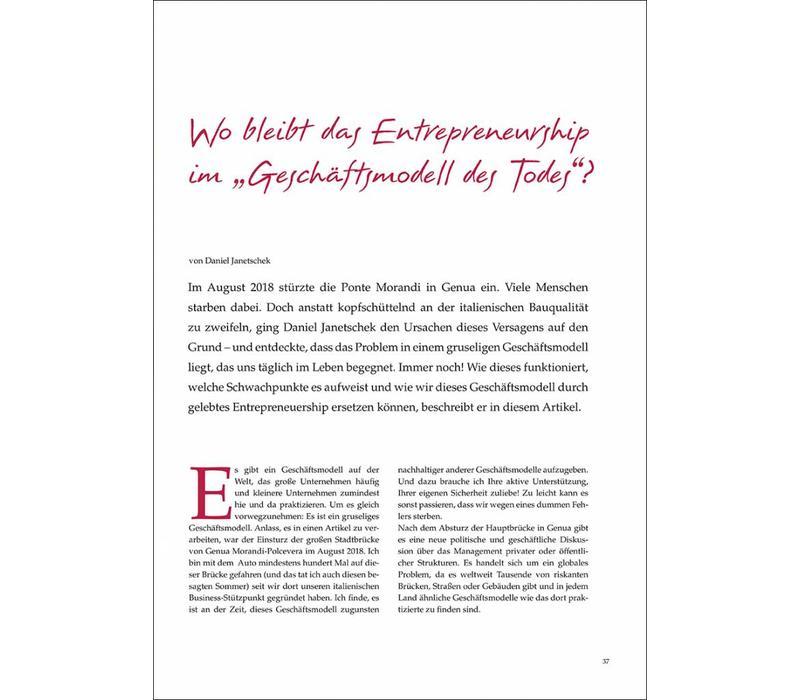 """Wo bleibt das Entrepreneurship im """"Geschäftsmodell des Todes""""?"""