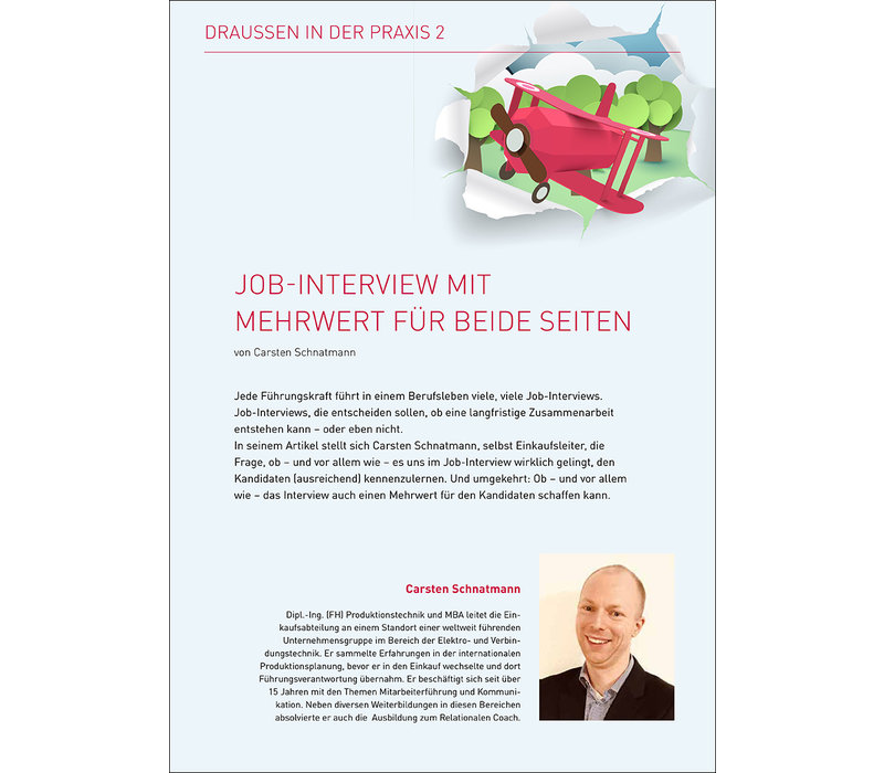 Job-Interview mit Mehrwert für beide Seiten