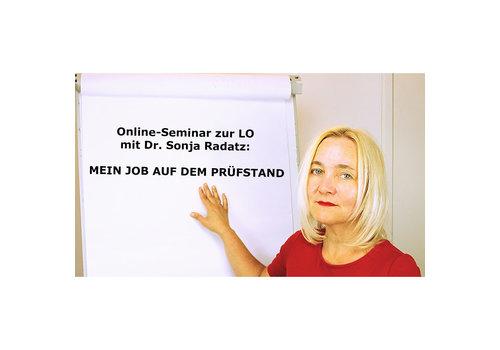 Online-Seminar: MEIN JOB AUF DEM PRÜFSTAND