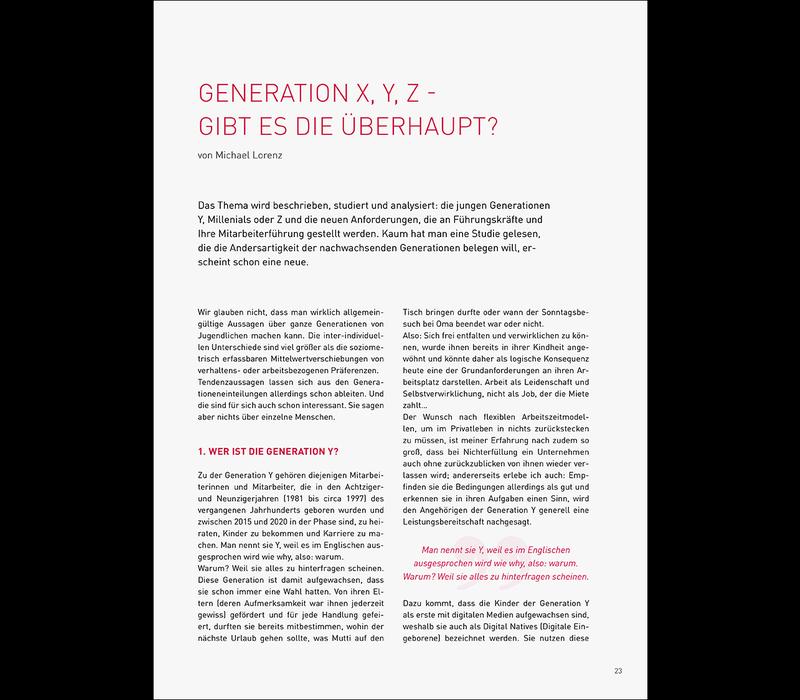 Generation X, Y, Z – gibt es die Überhaupt?
