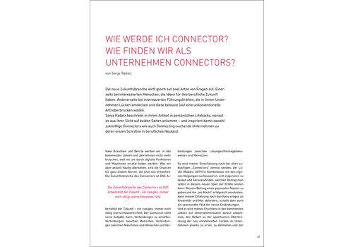 Wie werde ich Connector? Wie finden wir als Unternehmen Connectors?