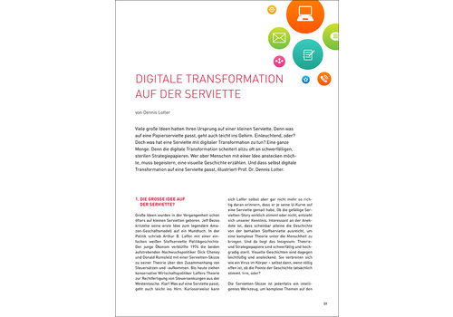 Digitale Transformation auf der Serviette