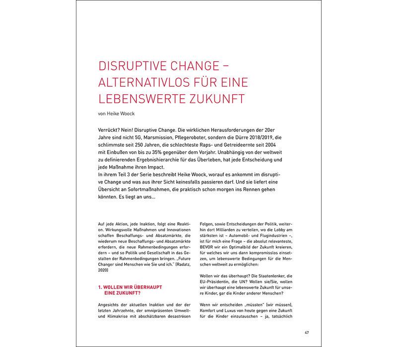 Disruptiver Change – alternativenlos für eine lebenswerte Zukunft