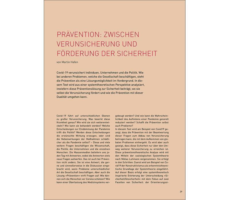 Prävention: zwischen Verunsicherung und Förderung der Sicherheit