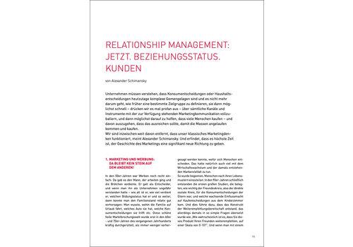 Relationship Management: JETZT. Beziehungsstatus. Kunden