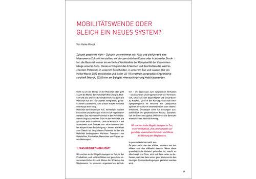 Mobilitätswende oder gleich ein neues System?