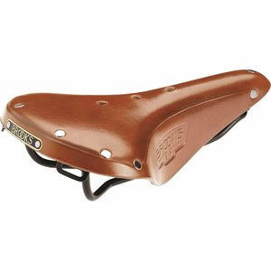 Brooks leather saddle