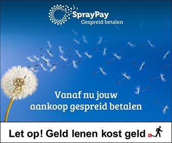 Nieuw: Gespreid betalen met SprayPay