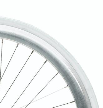 White tire