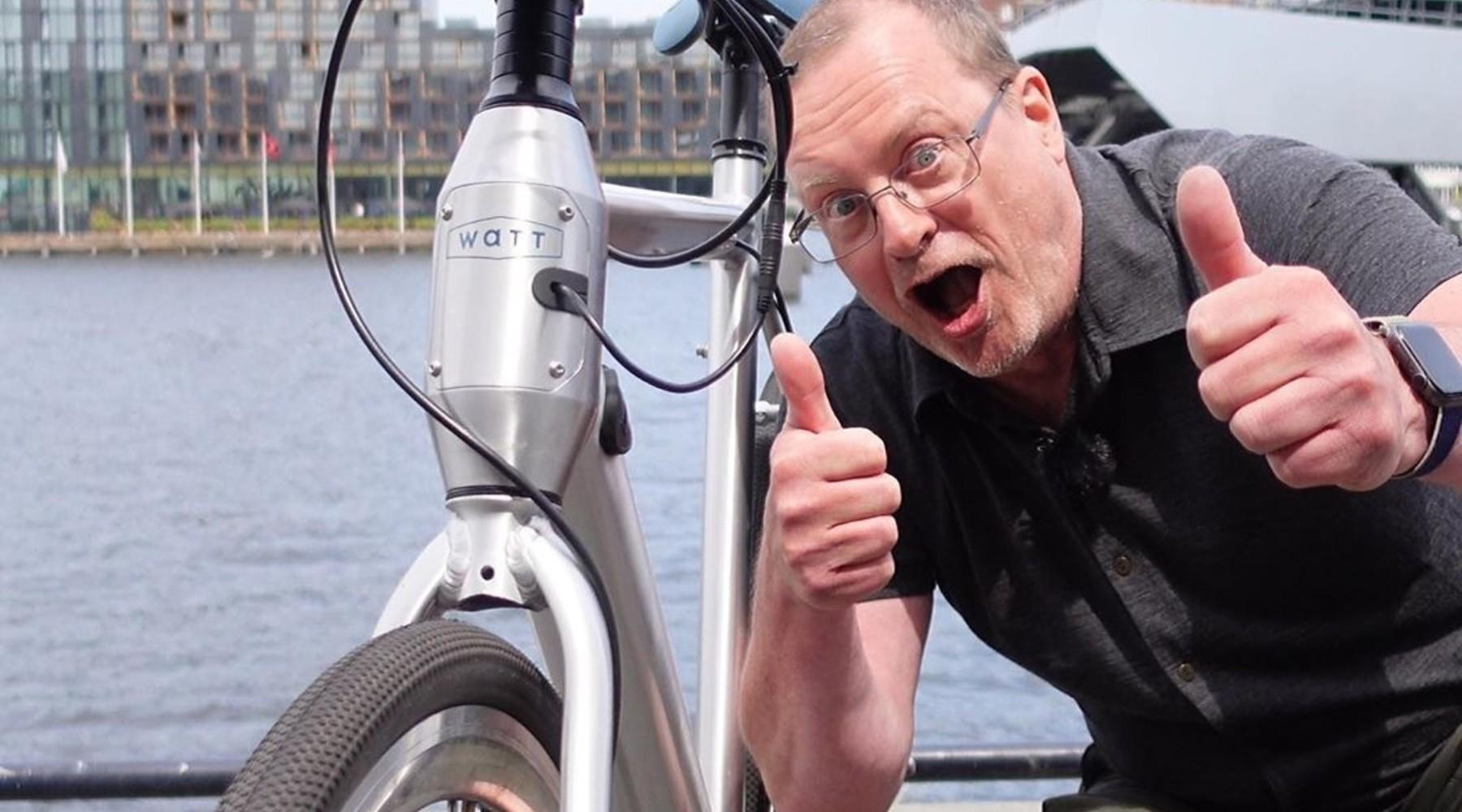 Bright.nl: deze hippe e-bike voor in de stad fietst erg soepel