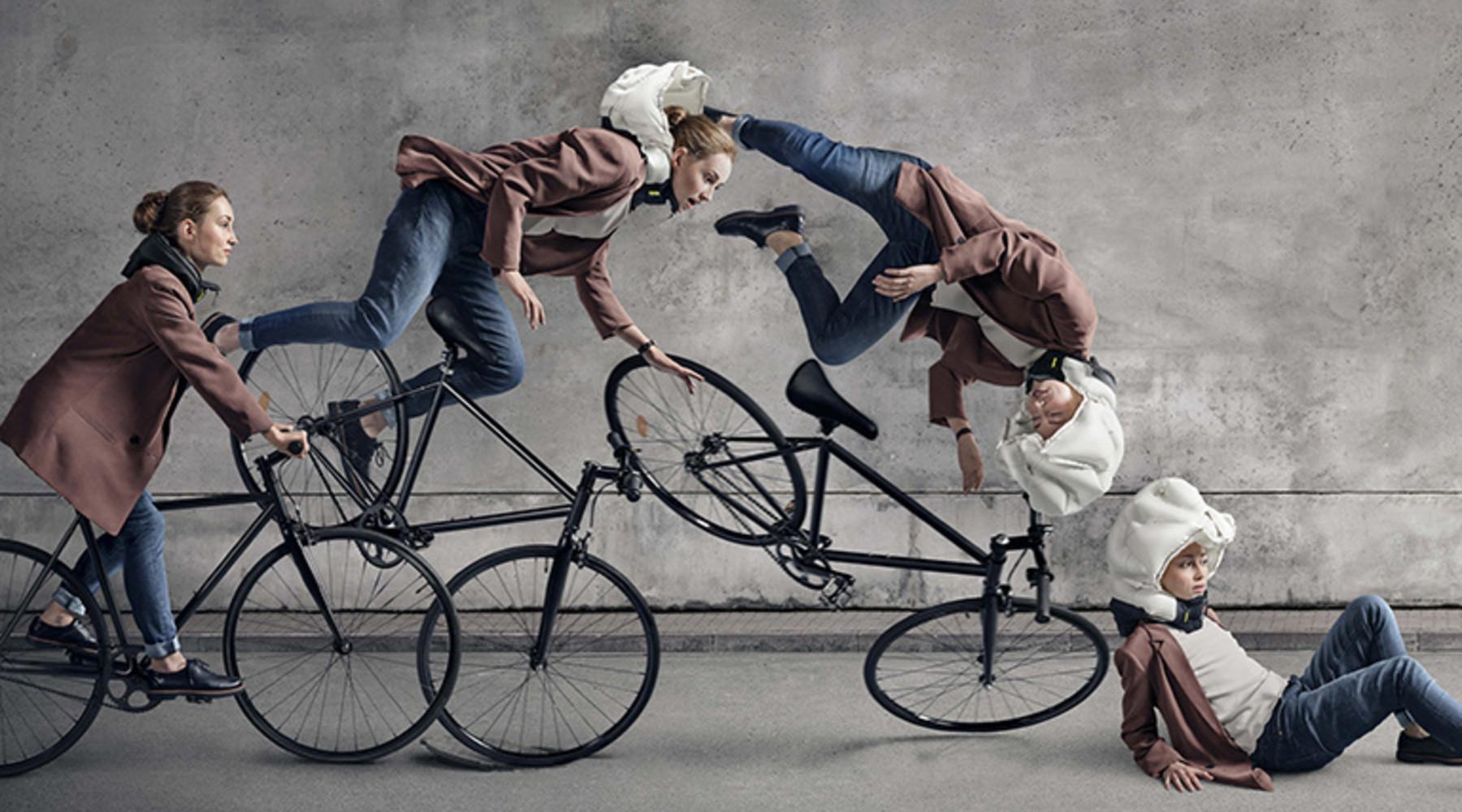Hövding airbag voor fietsers