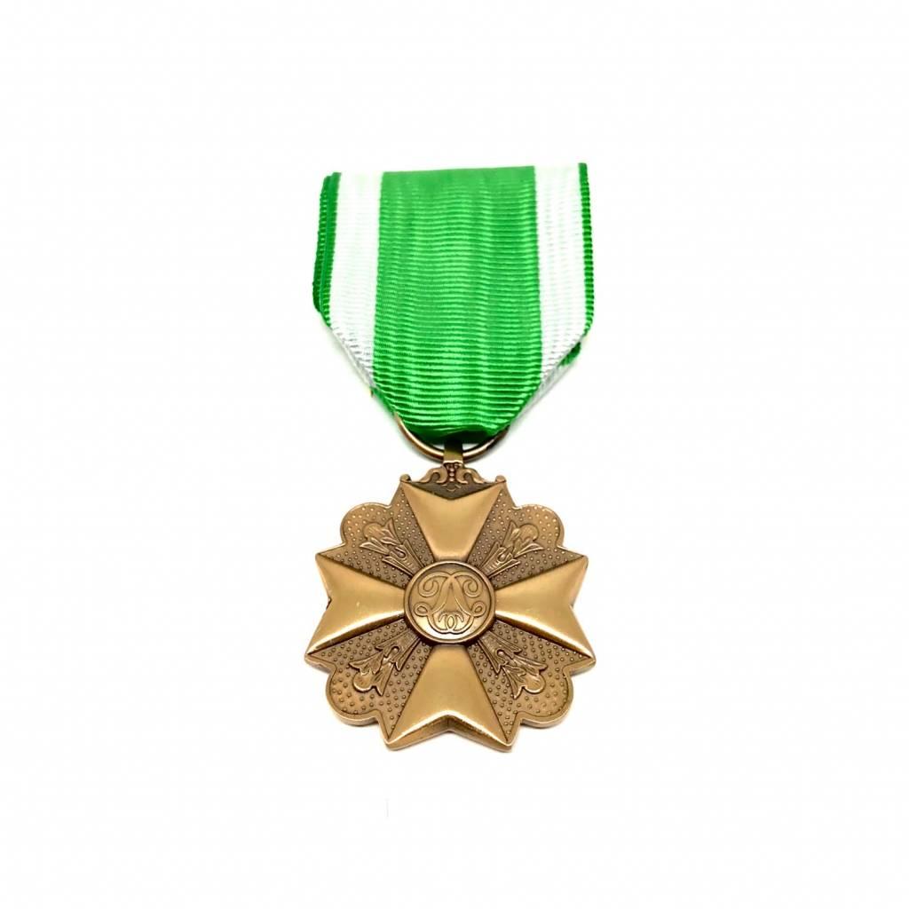 Médaille civique pompiers troisième classe