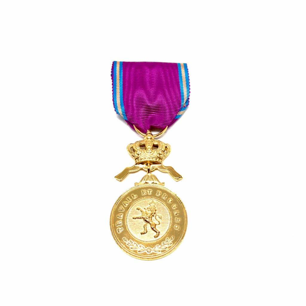 Golden medal in the Royal Order of the Lion