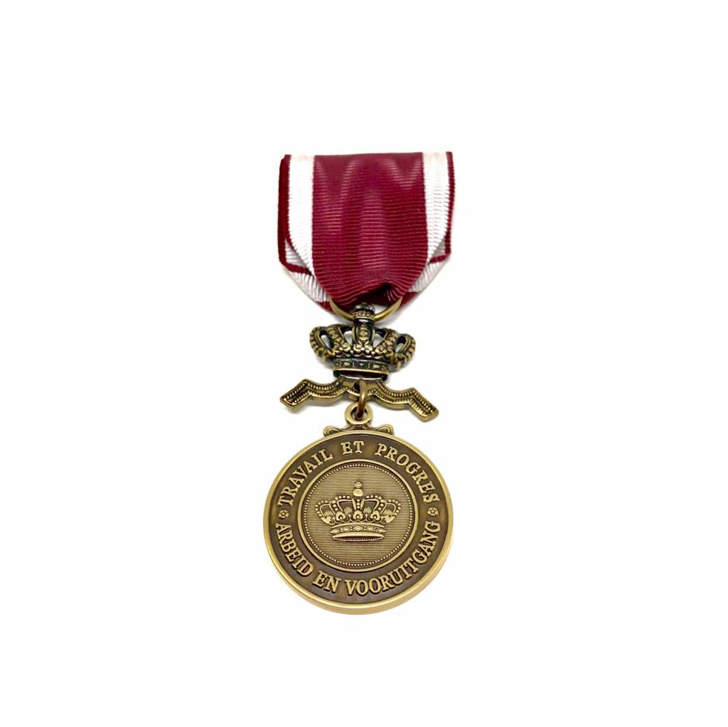 Bronzen medaille in de Kroonorde