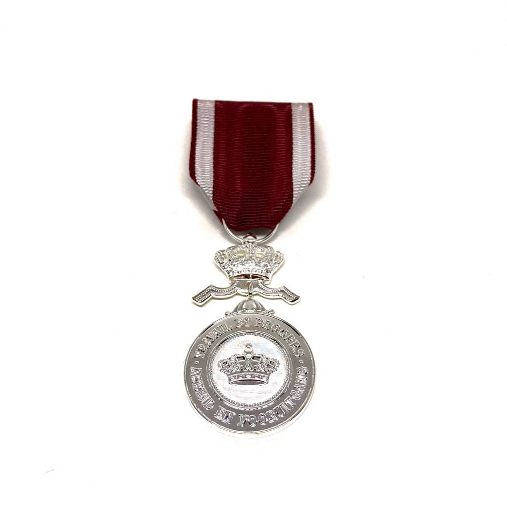 Silver medal of the Order of the Crown