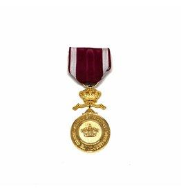Gouden medaille Kroonorde