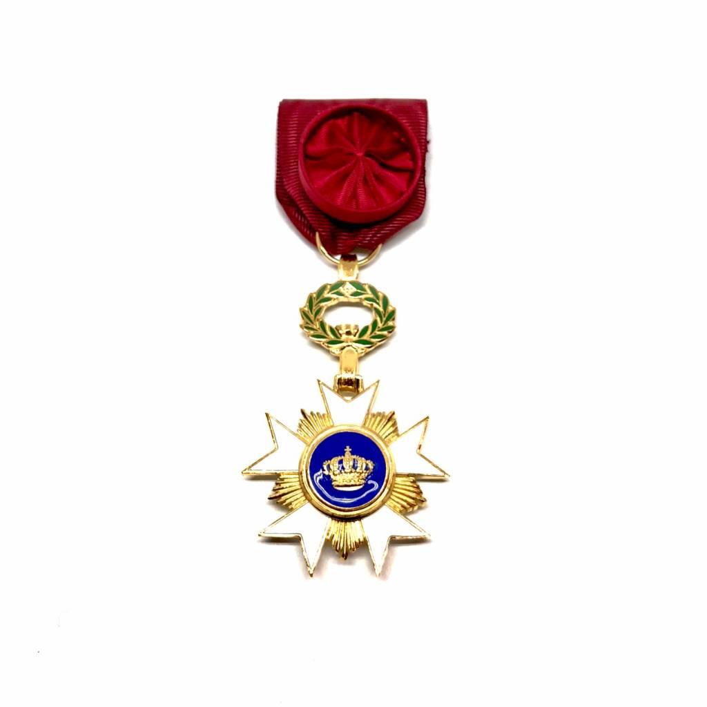 Décoration Officier de l'Ordre de la Couronne