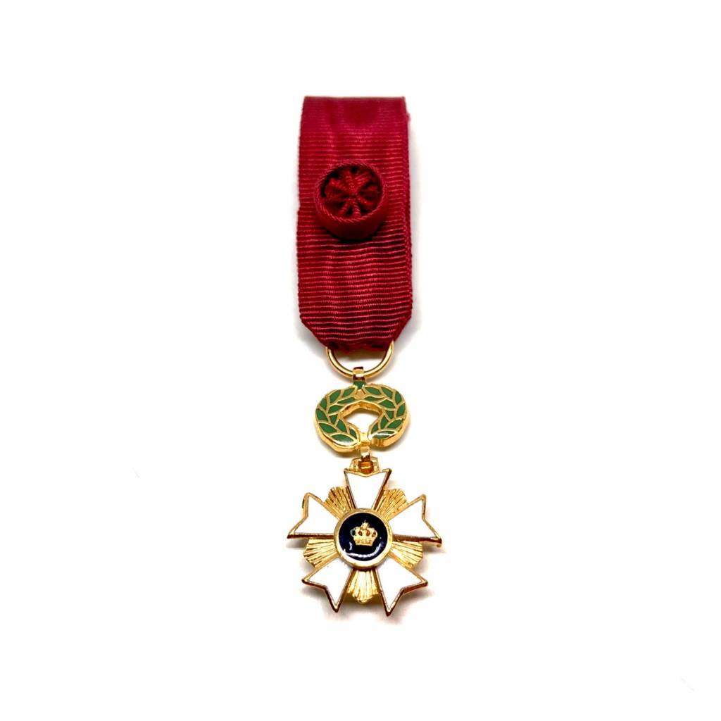 Ereteken Officier in de Kroonorde