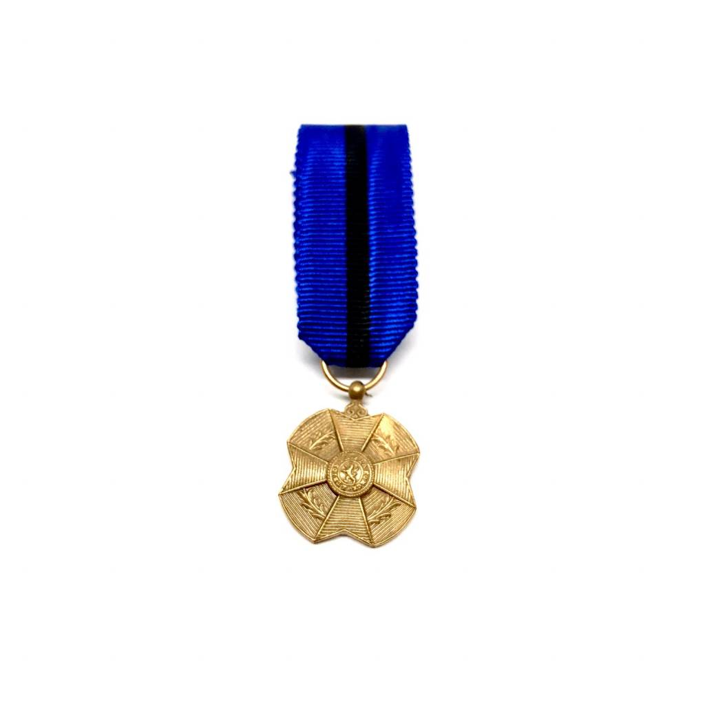 Bronze medal of the Order of Leopold II