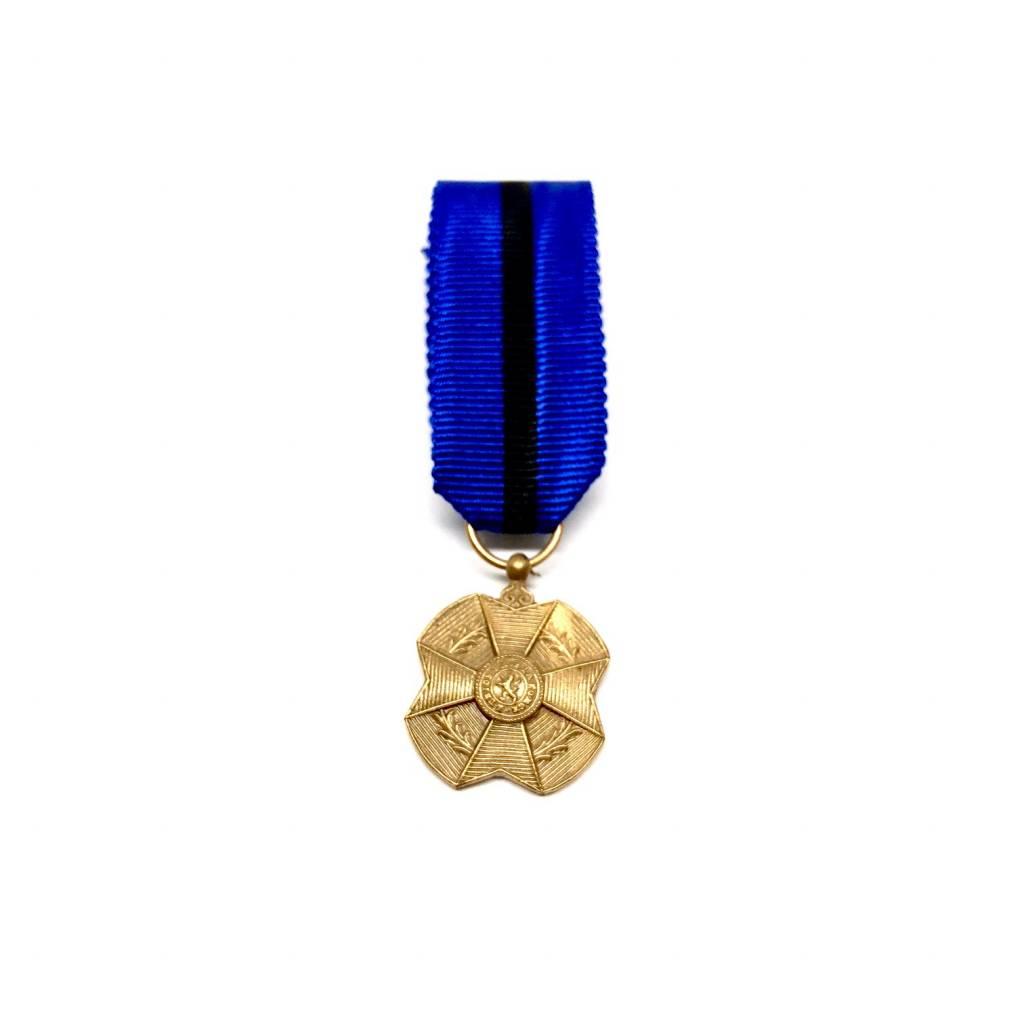 Bronzen medaille in de orde van Leopold II