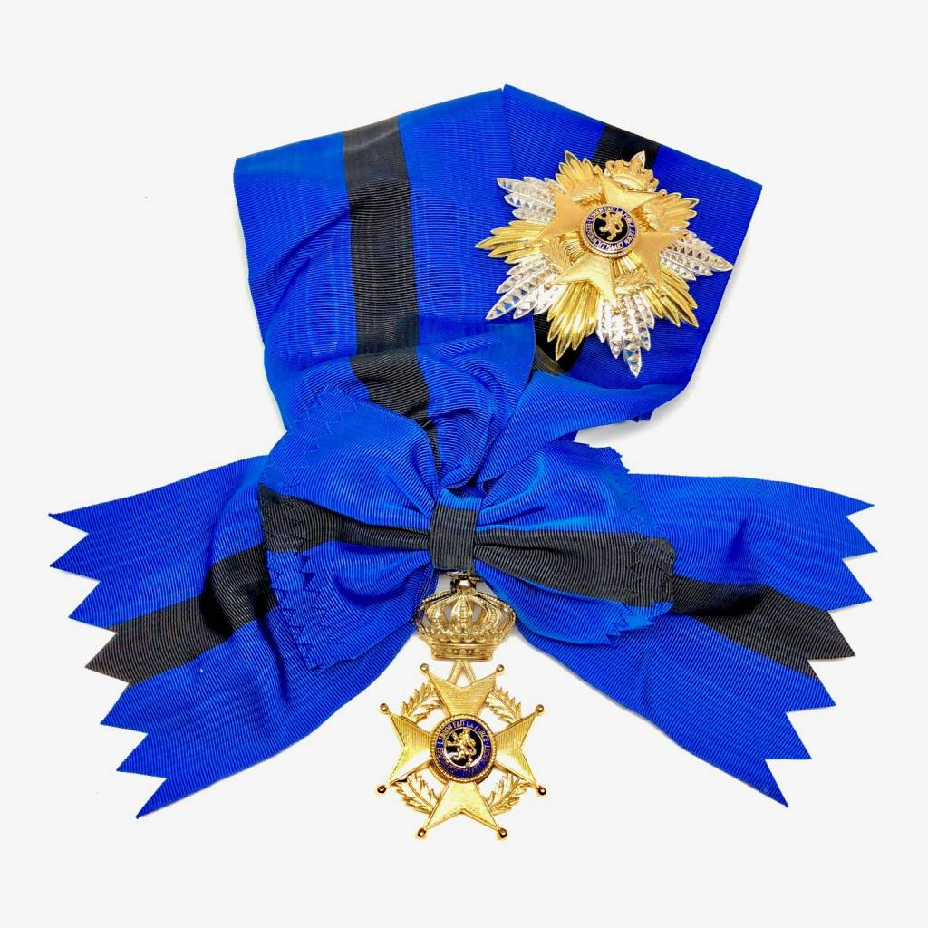 Grootkruis in de Orde van Leopold II