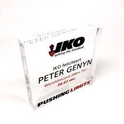 Award plexi IKO