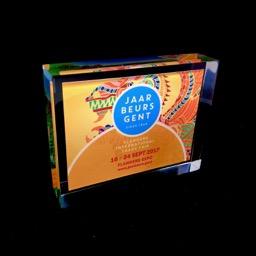 Award plexi Jaarbeurs