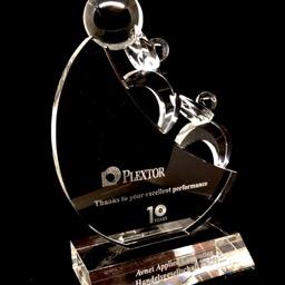 Award kristal Plextor