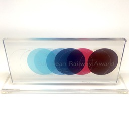European Railway Award in plexi