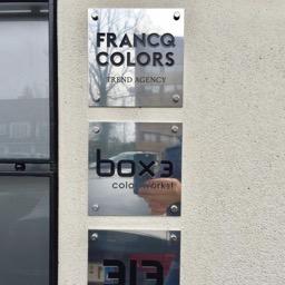 Nameplate inox